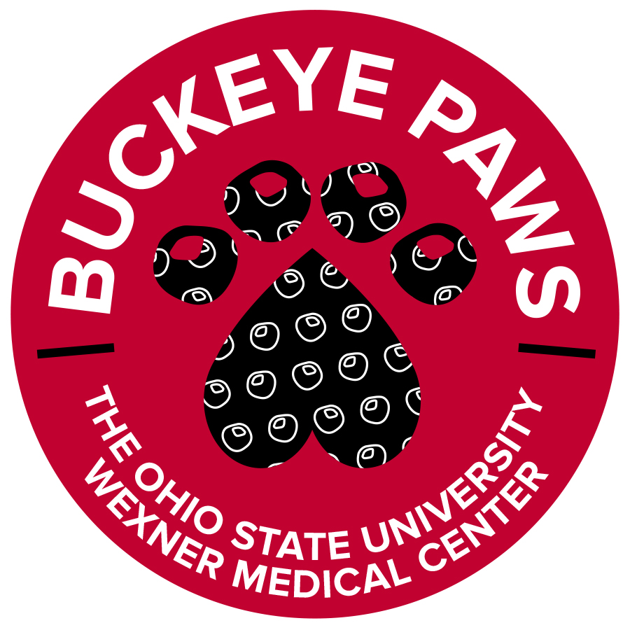 Buckeye Paws Service Dogs. The Ohio State University Wexner Medical Center. Ohio Barker
